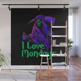 I Love Mondays Wall Mural