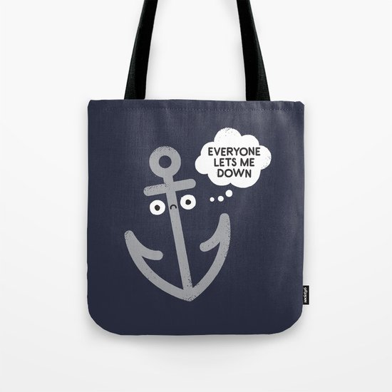 That Sinking Feeling Tote Bag