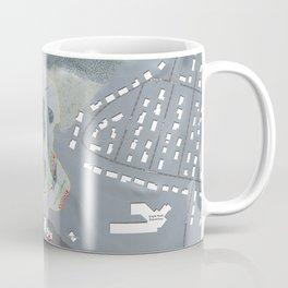 McIntyre Ski Resort Trail Map Coffee Mug