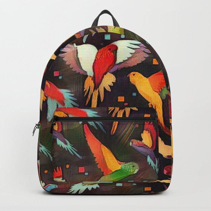 Fluttering Wings of Color Backpack