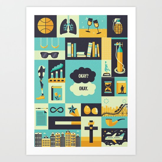 TFiOS Items Art Print