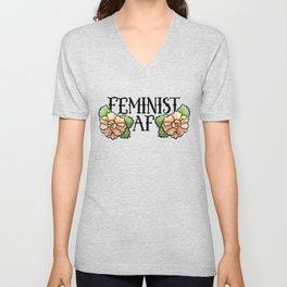 Feminist AF Unisex V-Neck