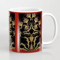 art nouveau Mugs featuring art nouveau by Ariadne