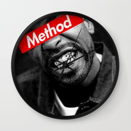 METHOD MAN WU TANG DESIGN Wall Clock