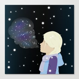 Galaxies Within You Canvas Print