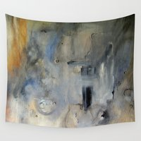 imagerybydianna Wall Tapestries featuring take from mine by Imagery by dianna