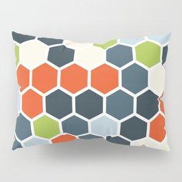 HEXAGONS - Blorangreen Pillow Sham