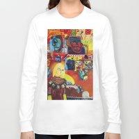 cartoon Long Sleeve T-shirts featuring Cartoon by Mira C