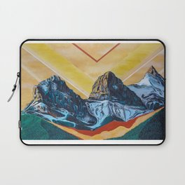 Three Sister Mountains Laptop Sleeve