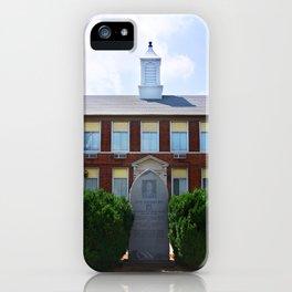 Gideon High School Building iPhone Case