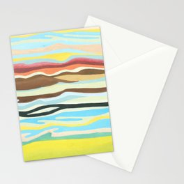 colorful perspective Stationery Cards