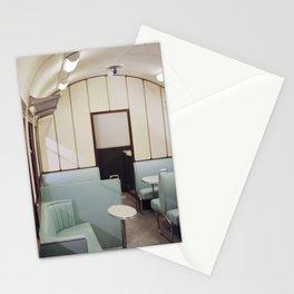 Interior dining car I Travel and Diner I Vintage I Elegant I Railway I Photography Stationery Cards