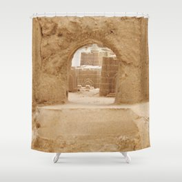 Sand Castle Inside Shower Curtain
