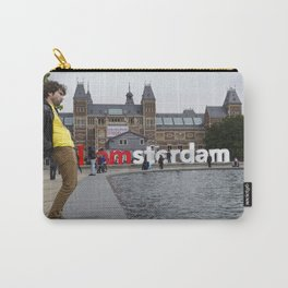 I Amsterdam Cock (Amsterdam) Carry-All Pouch