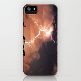 Mister Lightning iPhone Case