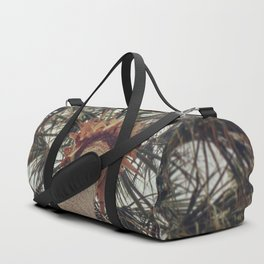 Palm Tree Before The Storm Duffle Bag