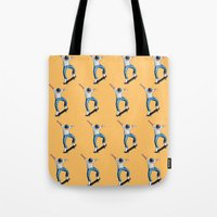 skate Tote Bags featuring Skate! by Hannah Catherine