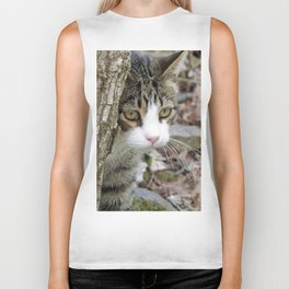 My Hunting Cat Biker Tank