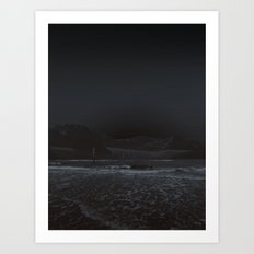 atmosphere · into the darkness Art Print