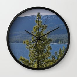 Trees + Tahoe II Wall Clock
