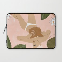 Life Is Better Without Bra Laptop Sleeve