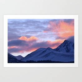 Rose Serenity Sunrise - II Art Print