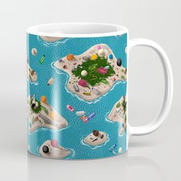 Trash Islands Coffee Mug
