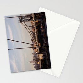 The Empire State Building and the Manhattan Bridge Stationery Cards