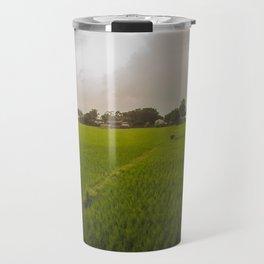 The Rice Paddies of Nepal 001 Travel Mug