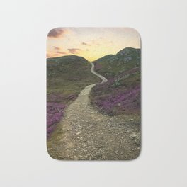 Sunset at Skye Island Bath Mat