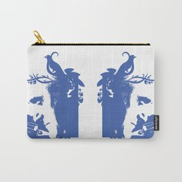 Violin and dove Carry-All Pouch