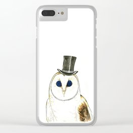 CHOUETTE Clear iPhone Case