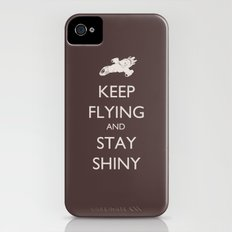 Keep Flying and Stay Shiny Slim Case iPhone (4, 4s)