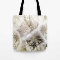 biology Tote Bags featuring Into the deep by UtArt
