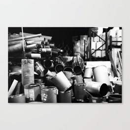 JUNK Canvas Print