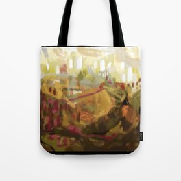 Abstract landscape 7 Tote Bag
