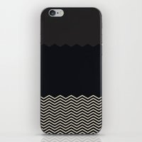 chevron iPhone & iPod Skins featuring Chevron by Georgiana Paraschiv