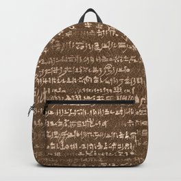 Demotic Script  Backpack