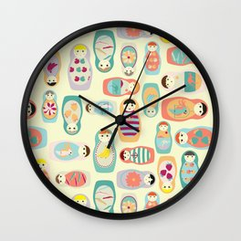 Russia Wall Clock