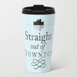 Straight out of Downton Travel Mug