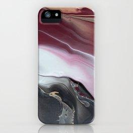 Purple lava iPhone Case