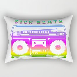 Sick Beats Rectangular Pillow