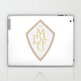 Madrid Blanco Badge Laptop & iPad Skin