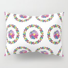 Ulo and Flowers Pillow Sham