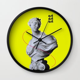 ART |STATUESQUE| Wall Clock
