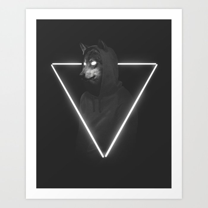 Discover the motif IT'S ME INSIDE ME by Robert Farkas as a print at TOPPOSTER