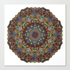 Hallucination Mandala 2 Canvas Print