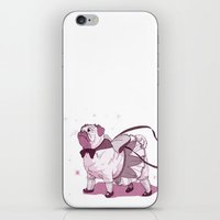 magical girl iPhone & iPod Skins featuring Magical Girl Pug by Bethan Lientie