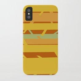 Trees - Yellow/Orange iPhone Case