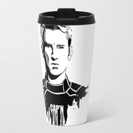 Avengers in Ink: Captain America Travel Mug